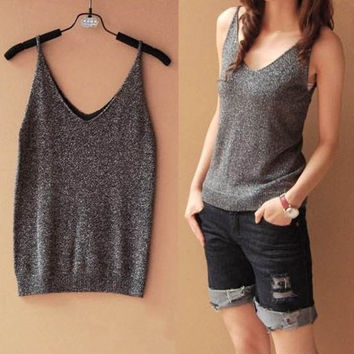 New Ladies Multicolor Sleeveless Bodycon Women Bustier Cotton T-shirt Tank Top Women Vest Tops Fitness Women