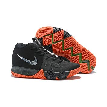 Nike Kyrie 4 EP Black/Orange Sneaker Shoe