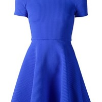 Opening Ceremony Textured Flared Dress - Hirshleifers - Farfetch.com