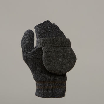 Chaos Stark Wool Blend Knit Convertible Mittens