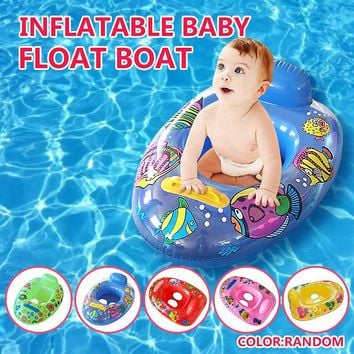 Inflatable Baby Child Safety Seat Float Raft Chair Water Fun Pool Float