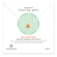 Healing Gem Red Aventurine Necklace