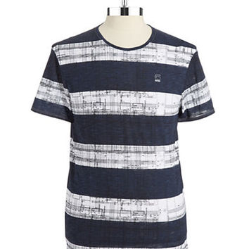 G-Star Raw Patterned T Shirt