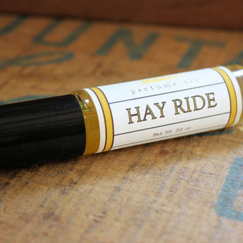 Hay Ride Perfume Oil Coconut Hemp Roll On by longwinterfarm