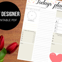 Daily Planner Printable - chic