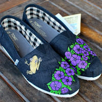 Puerto Rican Coqui Frog TOMS shoes