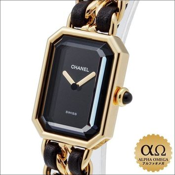 Chanel Premiere Ref. Plated L size Wristwatch from japan (9495