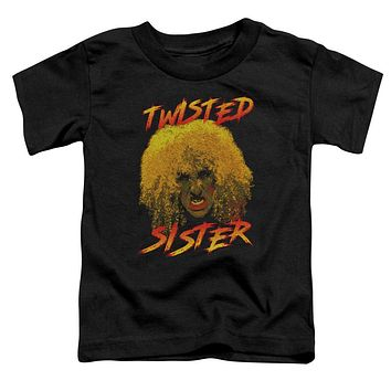 Twisted Sister Toddler T-Shirt Dee Snider Black Tee