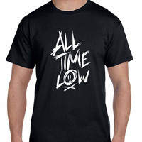 All Time Low Title Mens Tshirt