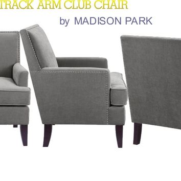Colton Track Arm Club Chair - Gifts for You and Me