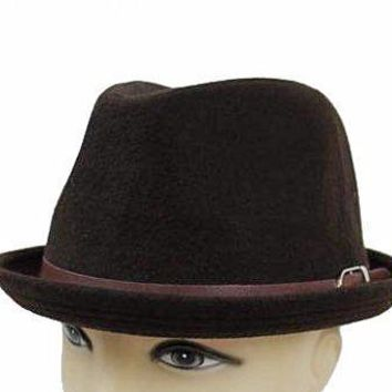 Fedora Hat Brown