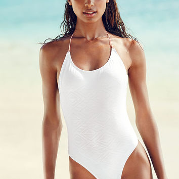 Embossed Neoprene One-Piece - Beach Sexy - Victoria's Secret