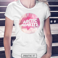 Arctic monkeys musical band logo 4 design options available -  - Women's t-shirt - Geometric - Colourful polygonal - tumblr clothing
