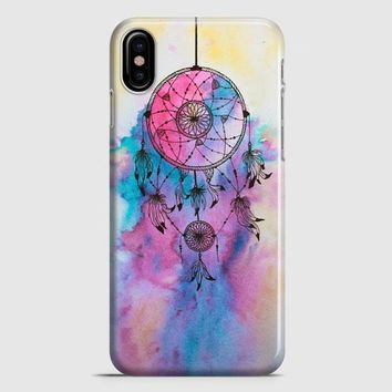 Hipster Dreamcatcher Watercolor Painting iPhone X Case | casescraft