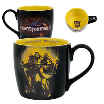 Universal Studios Transformers Bumblebee Decal Artwork 22 Oz Coffee Mug New