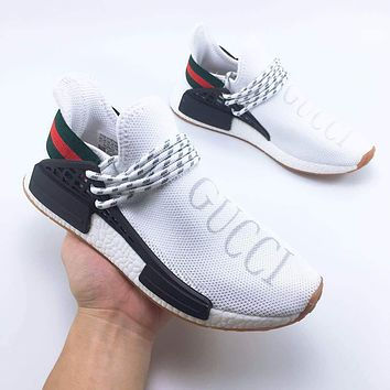 GUCCI Adidas HUMAN RACE NMD Leisure sports shoes-1