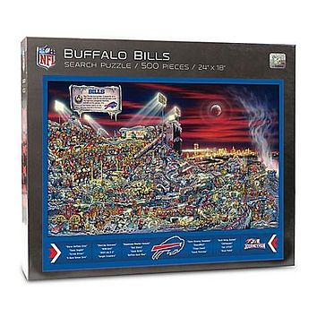 Buffalo Bills Find Joe Journeyman 500-piece Puzzle