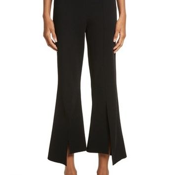 Stella McCartney Compact Knit Crop Flare Pants | Nordstrom