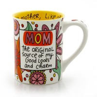 "Our Name is Mud ""Mom the Original"" Stoneware Mug, 16 oz."