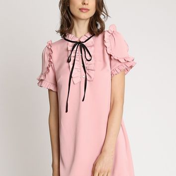 Sweet Babydoll Shift Dress | Ruche