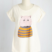 I'm Only Kitten Top | Mod Retro Vintage T-Shirts | ModCloth.com
