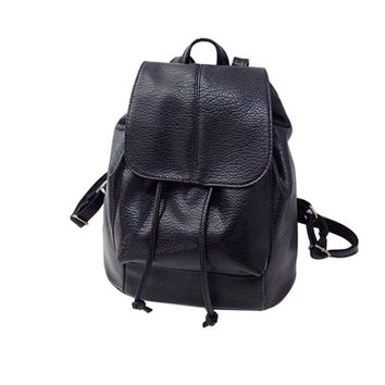Bolsa Fashion backpacks Charming Nice Fashion Women Leather Satchel Shoulder Backpack School Rucksack Bags Travel hot 4 17jul17