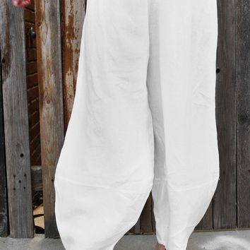 Oliver Pant - White by Bryn Walker