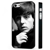 Paul McCartney The Beatles BLACK PHONE CASE COVER fits iPHONE