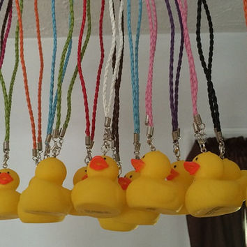 Rubber Duck Rear View Mirror Decoration