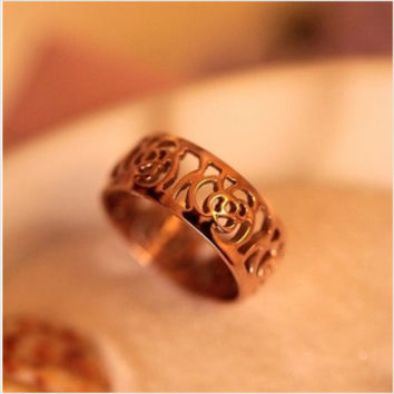 New Arrival Jewelry Stylish Shiny Gift Korean Accessory Hollow Out Ring [6586220807]