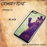 Hello Bear For Iphone 5C Case Gift Present - Multiple Choice Material