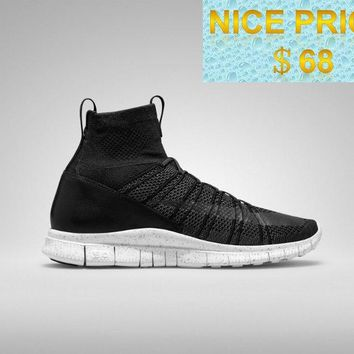 Factory Authentic 2018 Nike Free Mercurial Superfly SP HTM Blackout White shoes