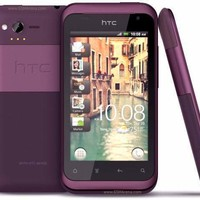 Used Verizon Wireless HTC Rhyme 8GB Purple Certified Preowned Smartphone