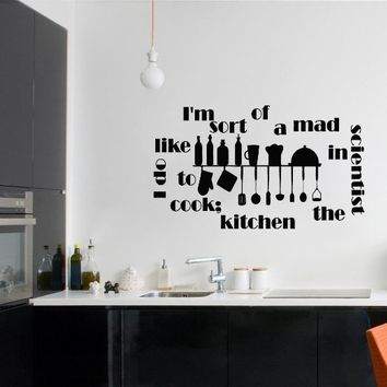 Wall Decals Im Sort Of A Mad Quote from Amazon Wall Decals
