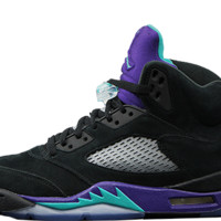 Air Jordan Retro 5 Black Grapes (136027-007)