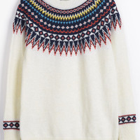 Cupshe Pour the Shine Printing Sweater