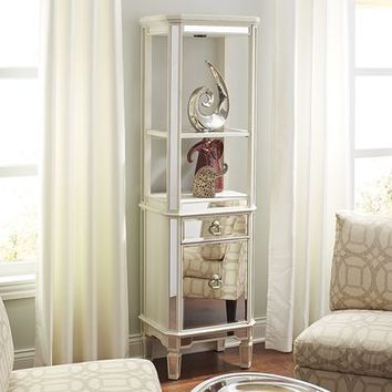 Merriweather Antique White Shelf