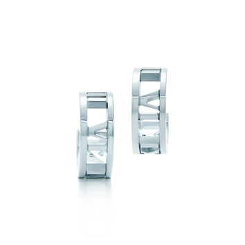 Tiffany & Co. - Atlas®:Hoop Earrings