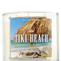 3-Wick Candle Tiki Beach