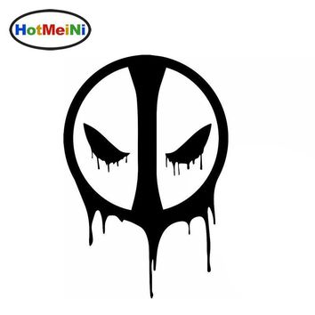 Deadpool Dead pool Taco HotMeiNi Horrible Death Faces The Shadow of Death  Funny Car Sticker for Rv Truck Window Car Cover Vinyl Decal 10 Color AT_70_6