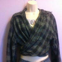 Vintage Plaid Top from Secondhand Lovin'