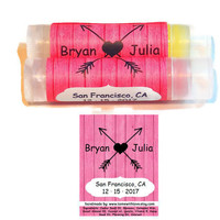 20 Country Wedding Lip Balm Favors  - Wedding favors for: Rustic Weddings, Wedding Anniversaries, Bridal Showers, custom wedding label, A95