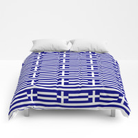 flag of greece 2-Greece,flag of greece,greek,Athens,Thessaloniki,Patras,philosophy,theater,tragedy Comforters by oldking