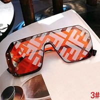 FENDI  Trending Women Men Stylish Couple Shades Eyeglasses Glasses Sunglasses 3#