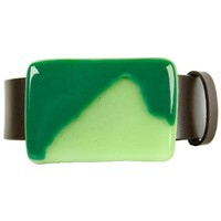 Mountain Khakis Men's Glass Teton Buckle, Green/Clear Green, One Size