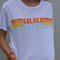 The Golden Coast Boyfriend Tee