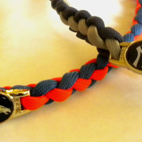 Paracord Necklace - MLB, NBA, NFL - You Choose Team Colors/Size