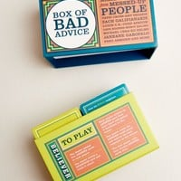 The Believer Box of Bad Advice: A Game