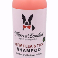 Neem Oil Shampoo - Helps Fight Fleas and Ticks - Oatmeal Added to Relieve Itching