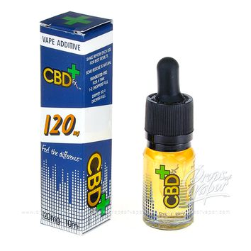 CBD FX 120mg Vape Additive ELiquid